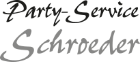 Party-Service Schroeder Logo